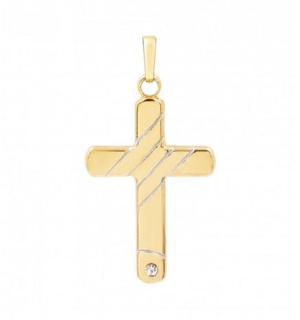 Крестик 2 цвета