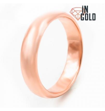Кольцо позолота обручальное 0,5 (объемное)