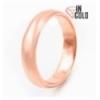Кольцо позолота обручальное 0,6 (обьемное)