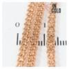 Цепочка позолота двухрядное якорное плетение 0,3/45 см