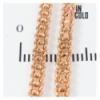 Цепочка позолота двухрядное якорное плетение 0,3/59 см