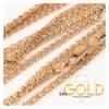 Цепочка позолота плетение лав 0,3/50 см