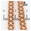 Цепочка позолота двухрядное якорное плетение 0,6/45 см