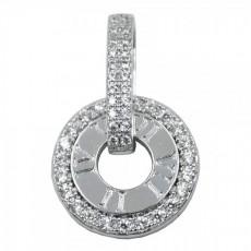 Кулоны родиум (под серебро)
